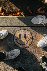 Shoes and Smiley Face