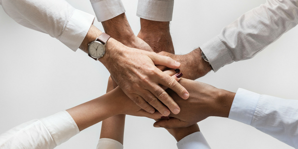 Hands to lead a community