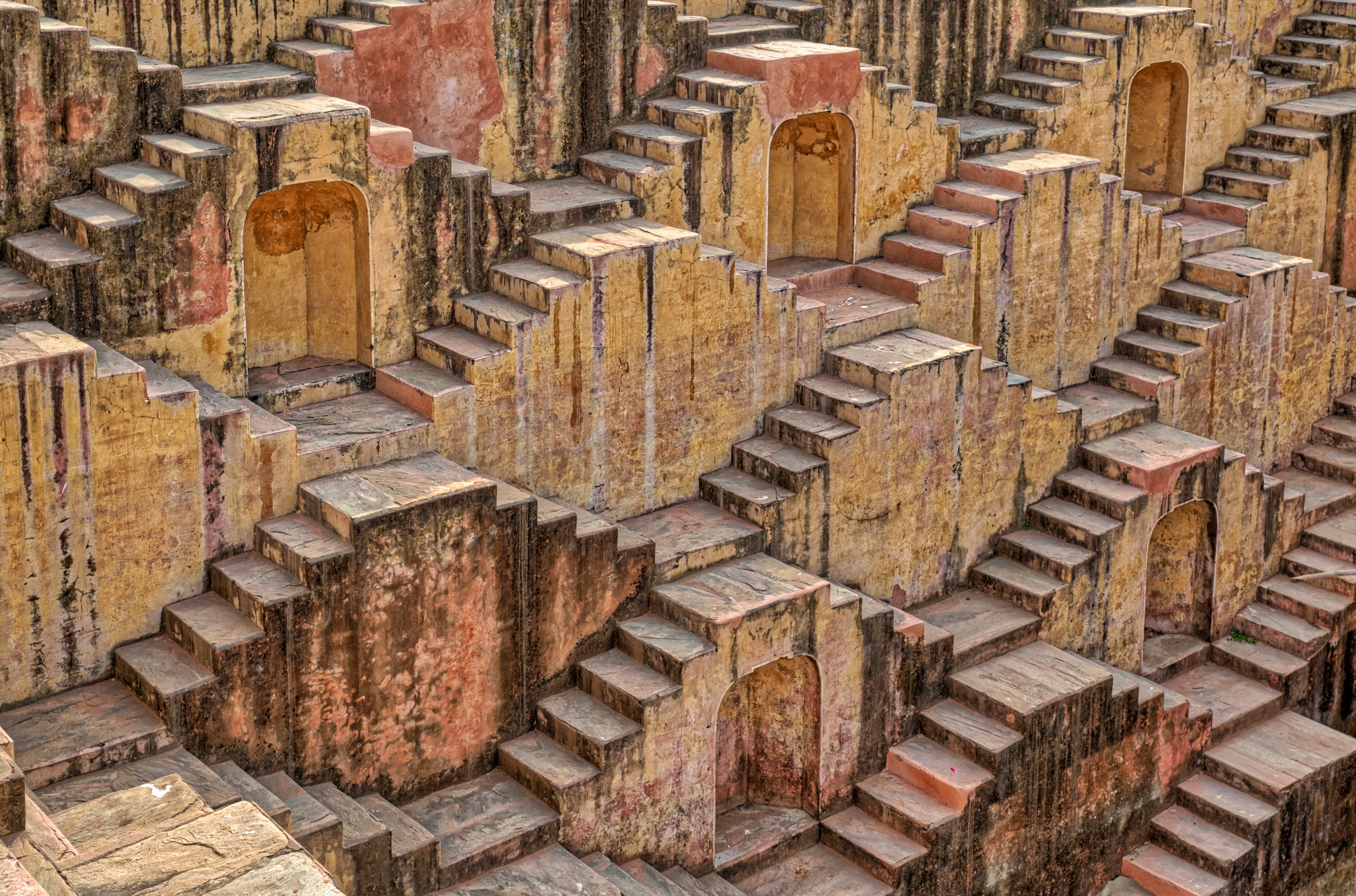 steps in a pattern