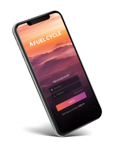Fuel Cycle Mobile App Login