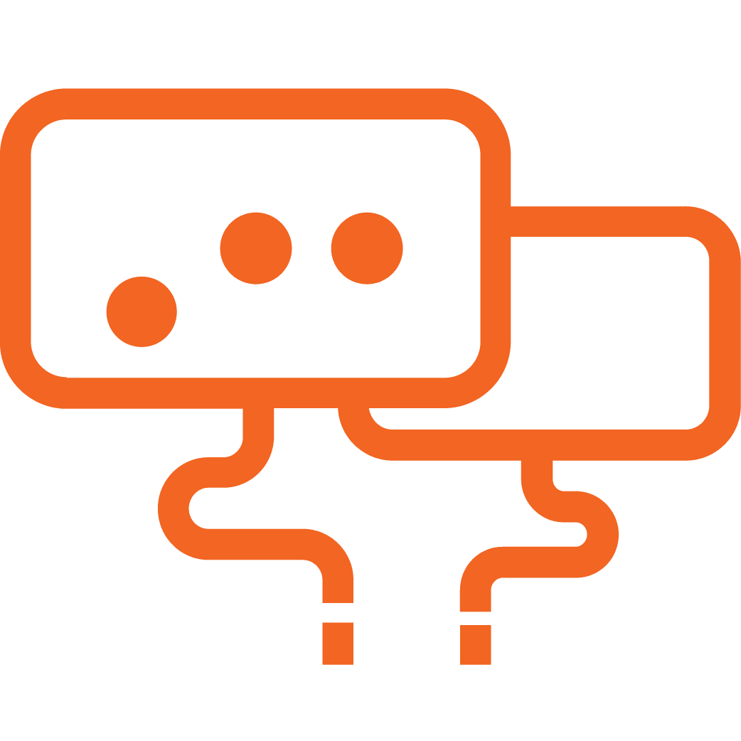 Fuel Cycle Market Research Online Community Icon: live chats